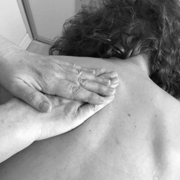 Rygmassage hos Aaskoven Zoneterapi og Massage