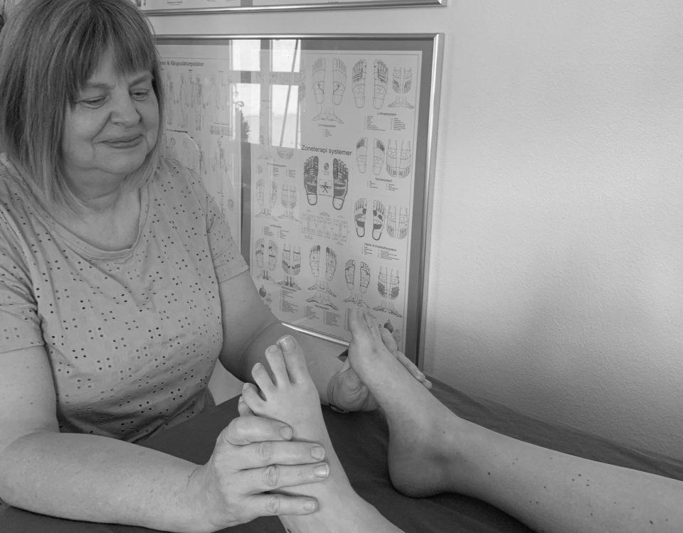Behandling med zoneterapi